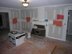 rental house appreciation - remodel - living room