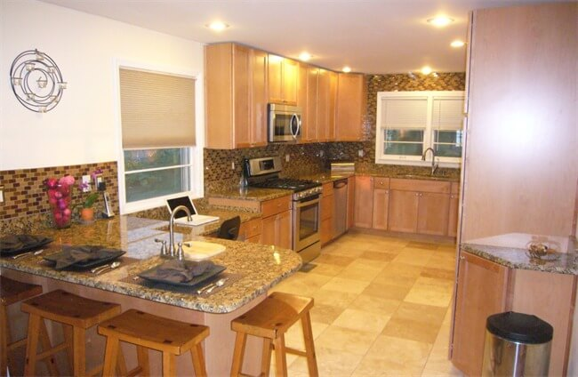 Live-in Flip House - remodeled kitchen