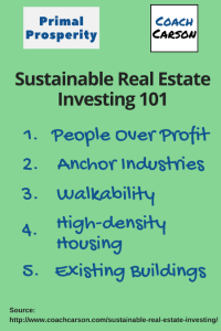 Sustainable Real Estate Investing 101:  How to Make $1,000/Hour and a Better World