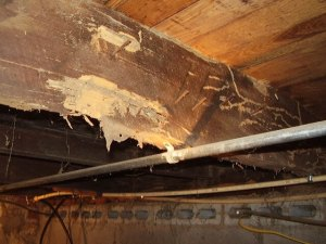damaged joist - followers don't make money - how to buy properties other's won't