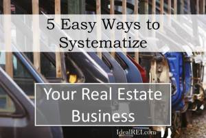 The 5 Key Systems of a Passive Rental Property Business