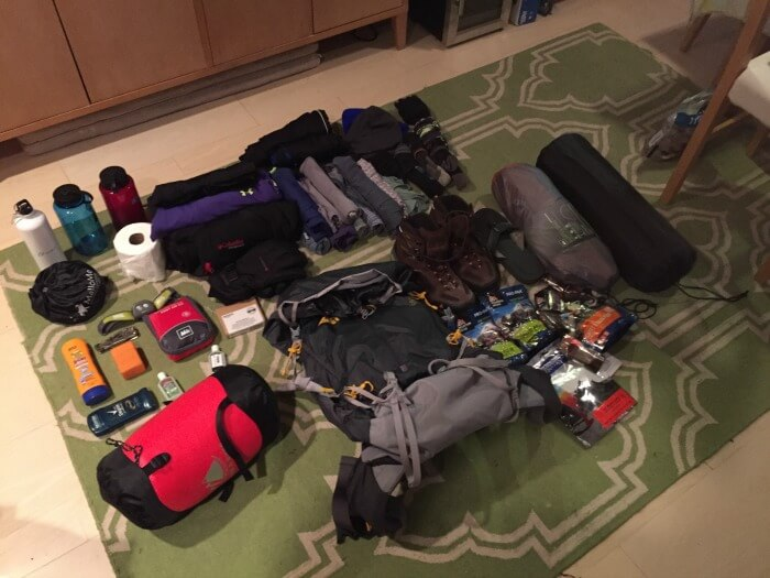 Investing in Expensive Market - Guy on Fire - packing for a week long trip climbing 14ers in Colorado