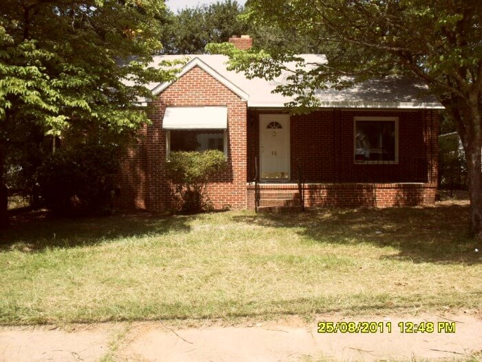 rental house - front