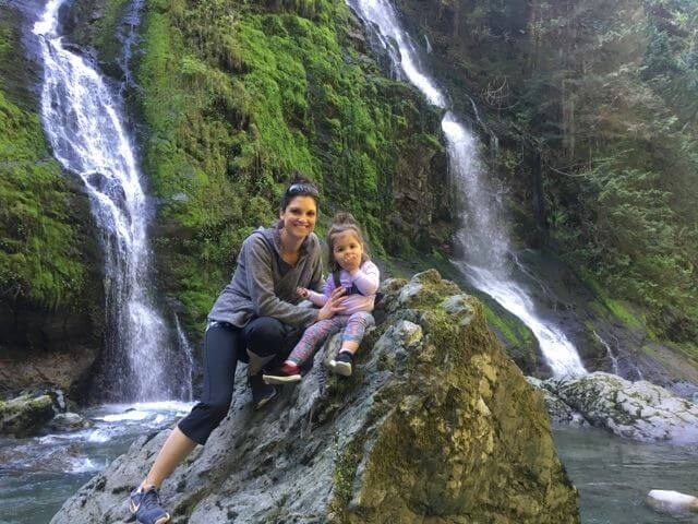 Hike to waterfall - From Bookkeeper to Real Estate Millionaire in 11 Years