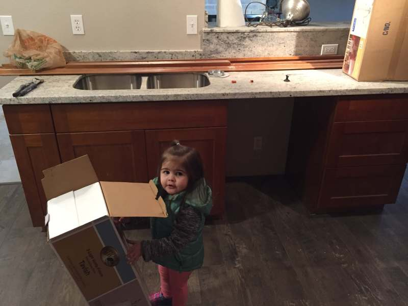 daughter helping with new construction - Jennifer Beadles - From Bookkeeper to Real Estate Millionaire in 11 Years