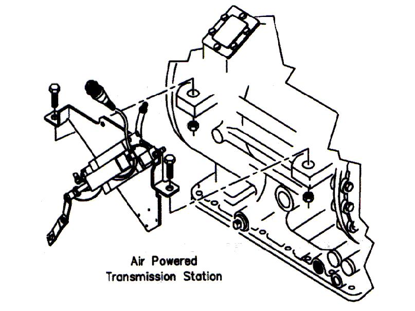 Allison Transmission Reverse Light Switch Location