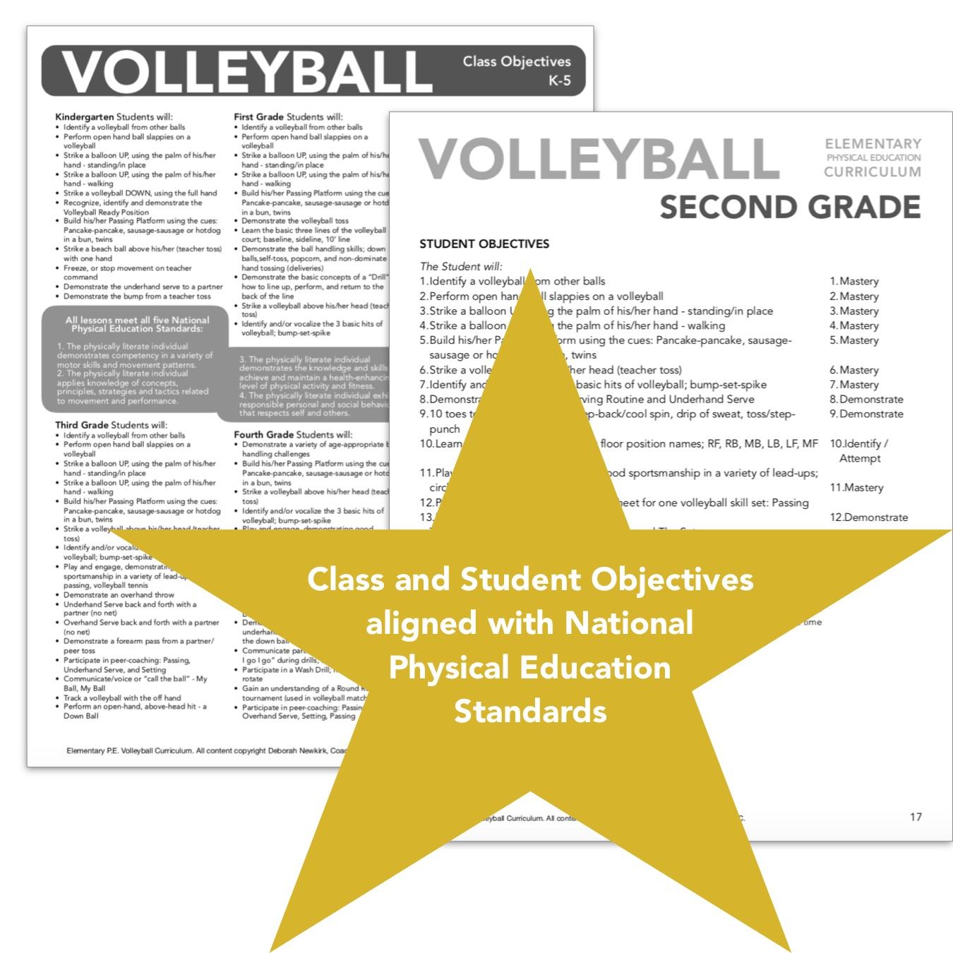 Coach Em Up Elementary Volleyball Curriculum