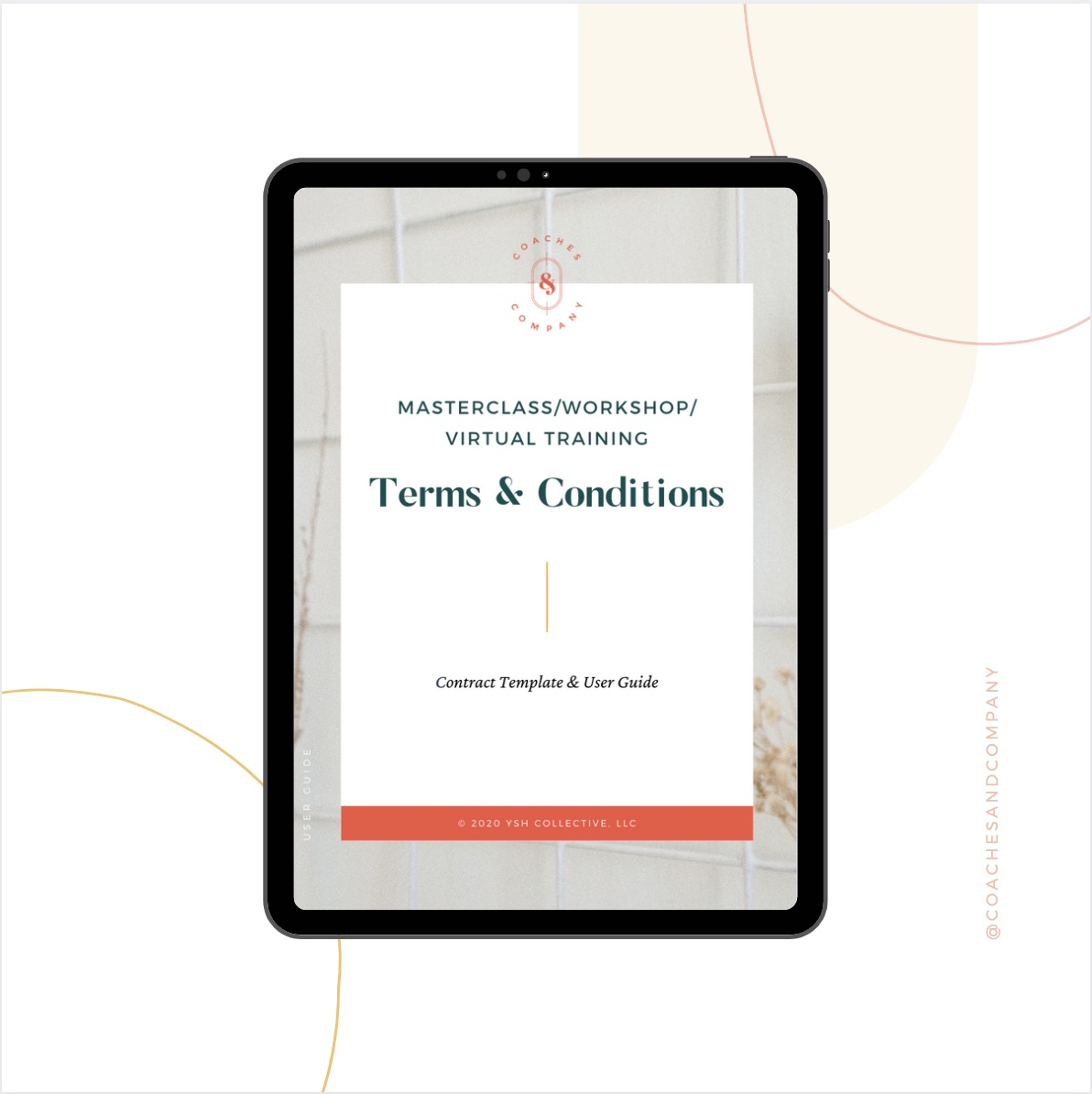 Masterclass/Workshop/Virtual Training Terms & Conditions Template - Coaches and Company