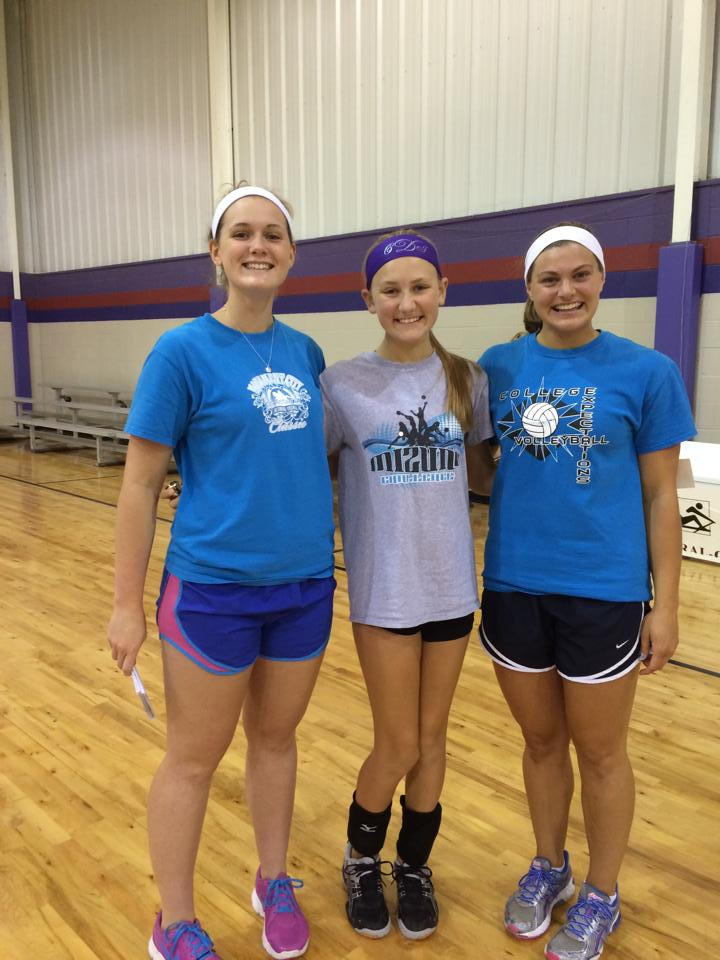 Union University Volleyball Camp 2014
