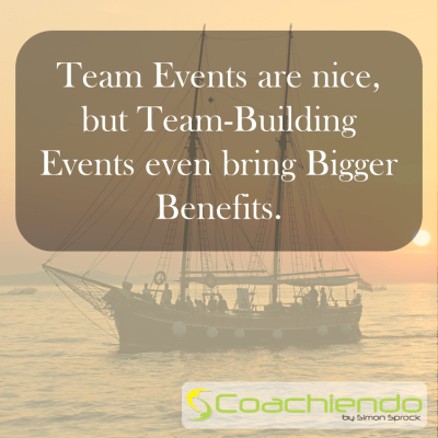 Rather Team-Building than Team-Event