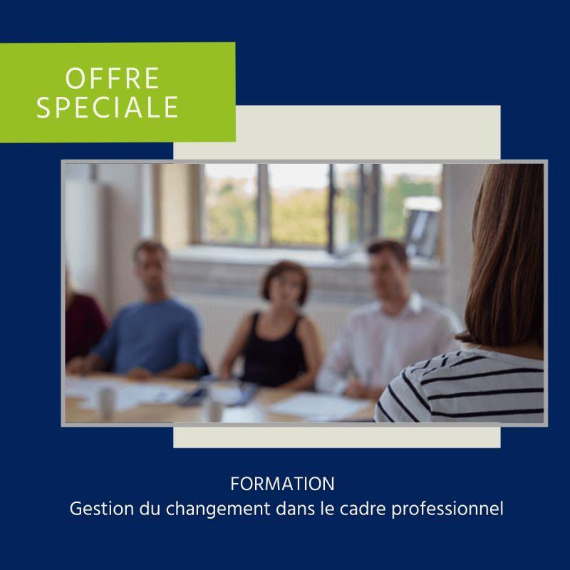 Offre formation changement job - Actualités & suggestions
