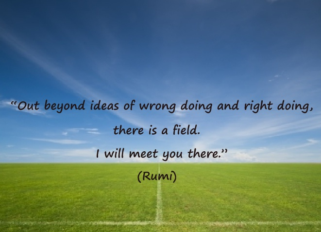 Image result for rumi right and wrong