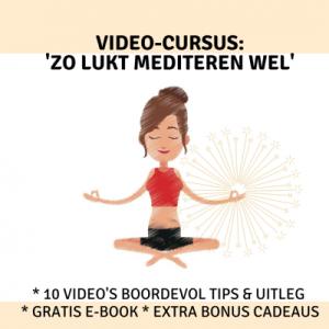 Video-cursus 'Zo lukt mediteren wel'