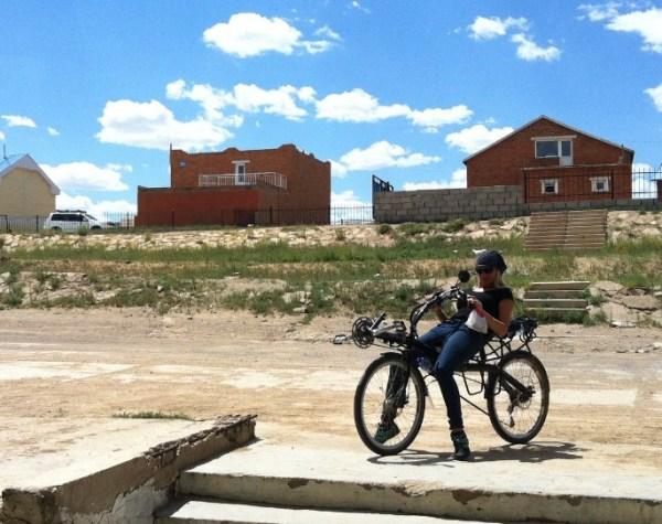 Omgaan met veranderingen, Sanne op de fiets