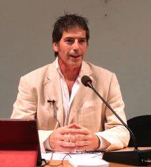 Una bella immagine del coach motivazionale Giancarlo Fornei, tratta da una conferenza sull'autostima tenuta a Verona (ottobre 2014)