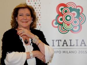 DIANA BRACCO PADIGLIONE ITALIA