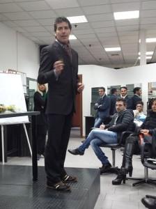 Il coach motivazionale Giancarlo Fornei in azione a Reggio Emilia - Convegno Didattico Nazionale Anam Marzo 2015