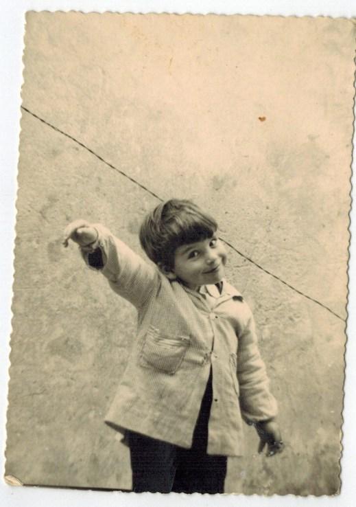 Il coach motivazionale Giancarlo Fornei da bambino
