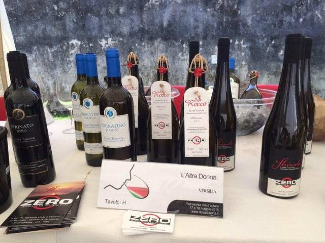 I prodotti dell'Azienda Agricola L'Altra Donna a Strettoia (Versilia)