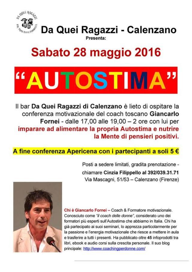Conferenza Calenzano 28 maggio 2016