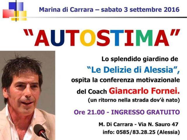 Sabato 3 settembre Marina di Carrara