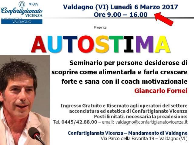 Vicenza - 6 marzo 2017 - seminario motivazionale con il coach Giancarlo Fornei