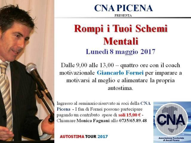 San Benedetto del Tronto - CNA Picena - seminario autostima 8 maggio 2017
