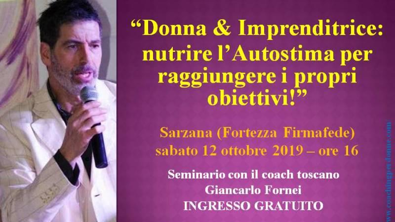 Donna & Imprenditrice: nutrire l'autostima per raggiungere i propri obiettivi!