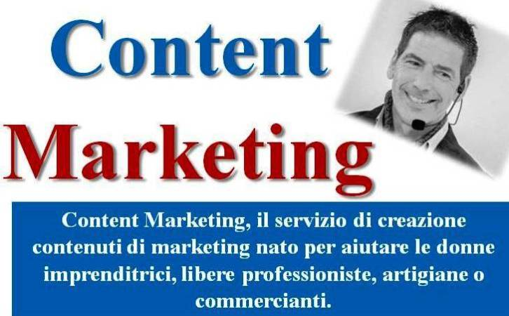 I servizi di Content Marketing per donne imprenditrici!