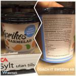 Ica´s sylt utan tillsatt socker