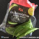 Salladsärtor - istället för kakor