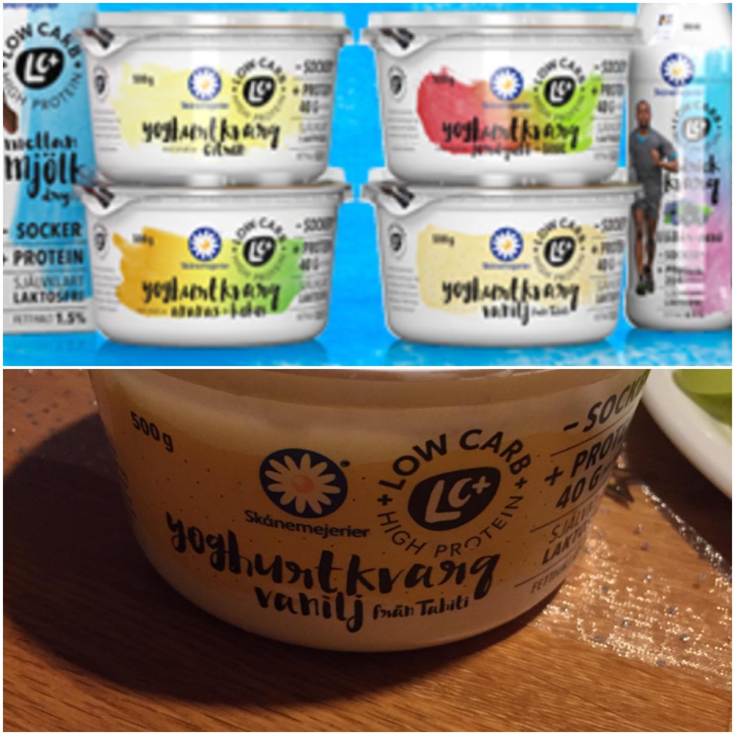 yoghurt kvarg skånemejerier