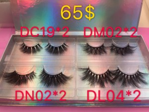 EYELASH SAMPLE PACK