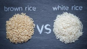 What is healthier - brown or white rice?