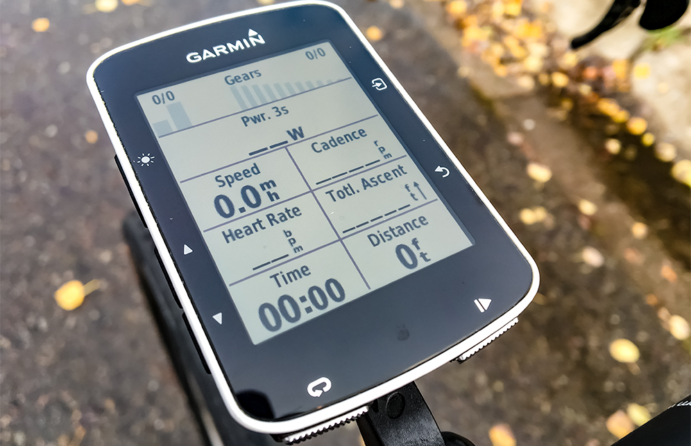 Getting a Garmin Edge 520 - Charging and Initial Set Up