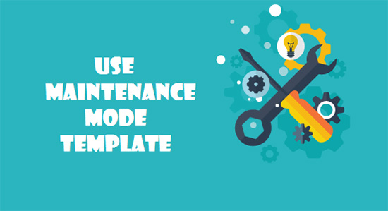 use-maintenance-mode-template