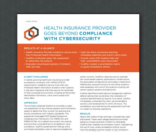 Coalfire Independent Cyber Risk Management And Compliance Services Pci Hipaa Fisma Fedramp Iso Glba