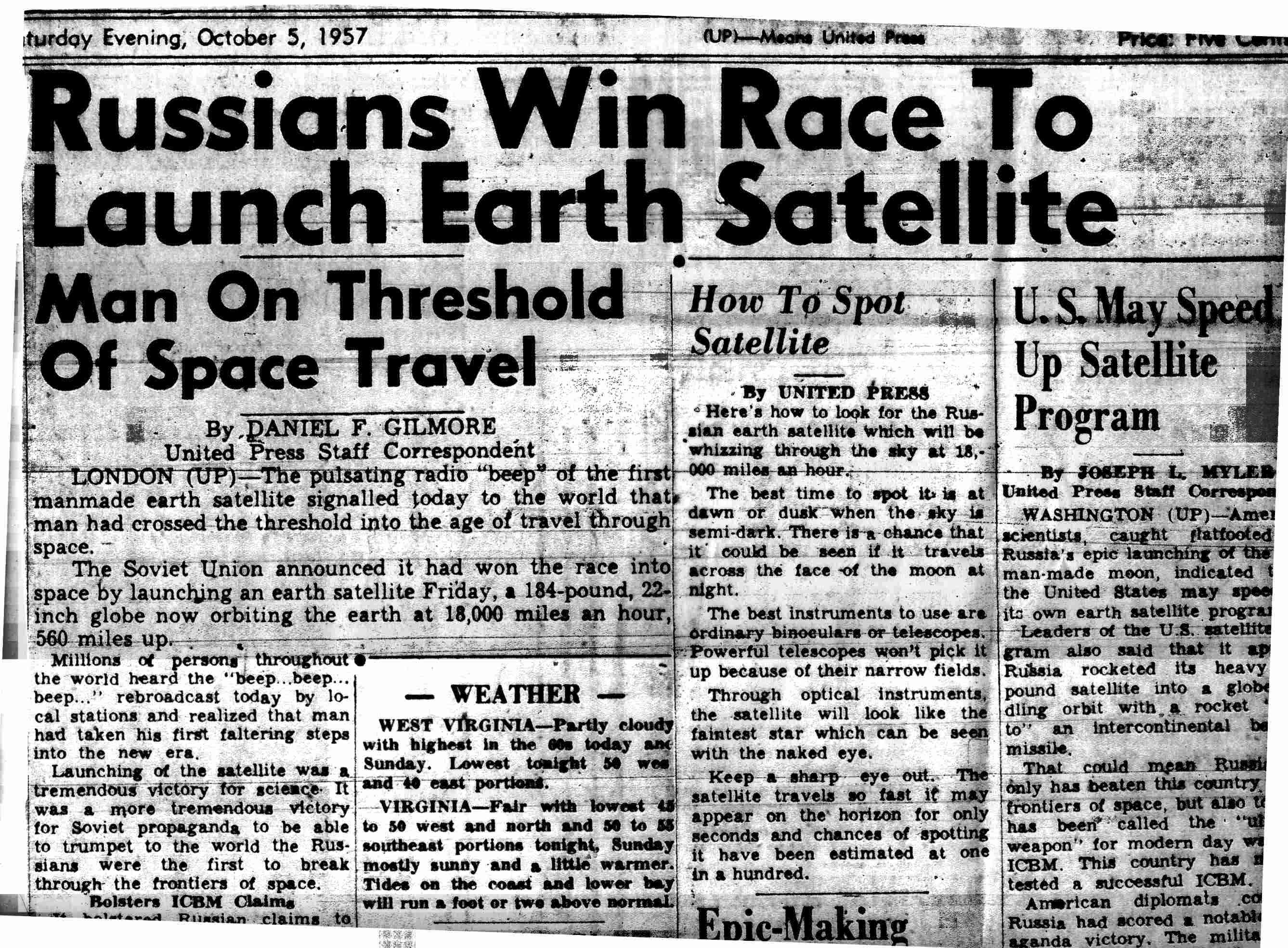 Image result for moon race news 1960s
