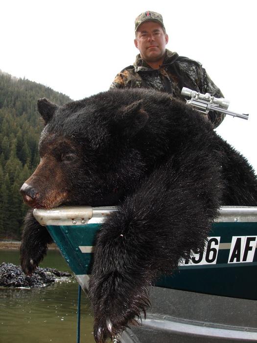 Alaska Black Bear Hunting Certified Master Hunting Guide