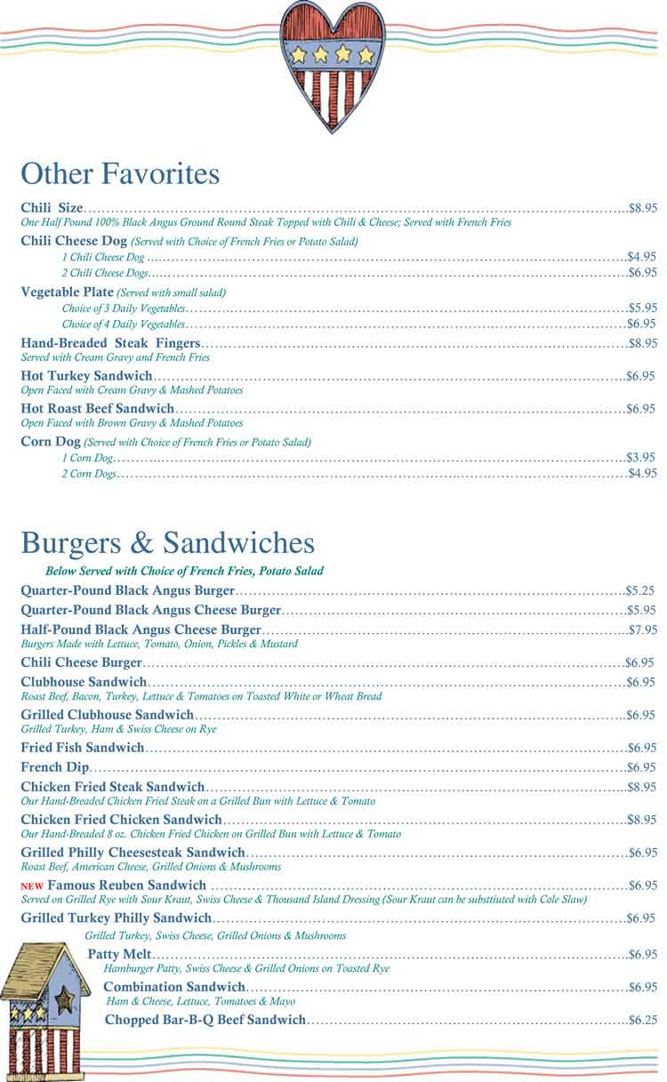 andy s country kitchen restauran coastal bend menu guide
