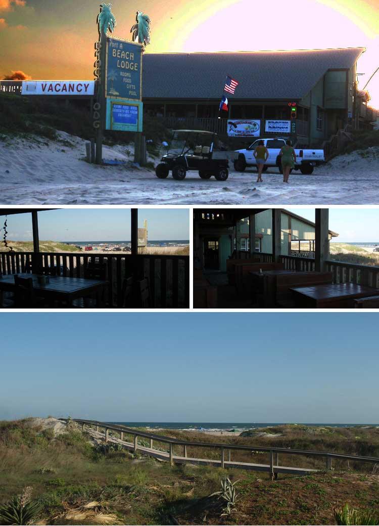 The Beach Lodge Restaurant in Port Aransas Texas  Beachfront Dining  Full Service Bar