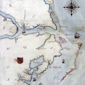 The 'Lost' Colony and John White's 'Virgenia Pars' Map: An Outer Banks historian provides some much-needed historical context