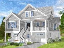 Coastal Farmhouse Cottage House Plans