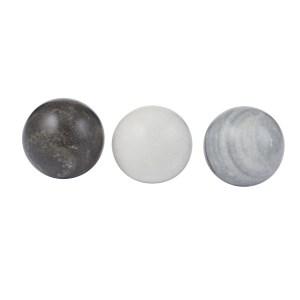 Marble Look Deco Balls