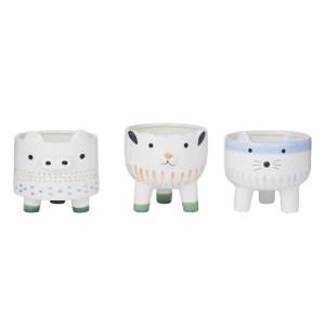 Happy Animal Pots