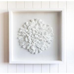3D Art - Coral En Blanc