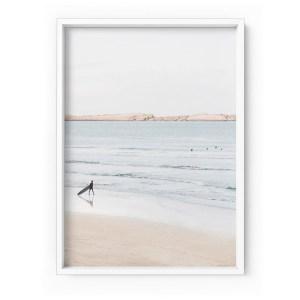 Beach Ocean Surfer