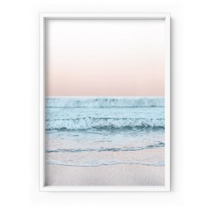 Beach at Dusk Print