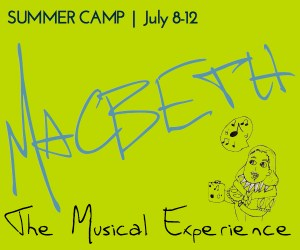 2013 Macbeth Summer Camp Logo