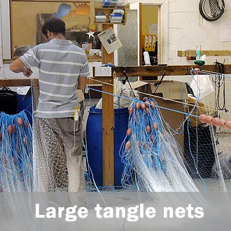 large mesh tangle nets